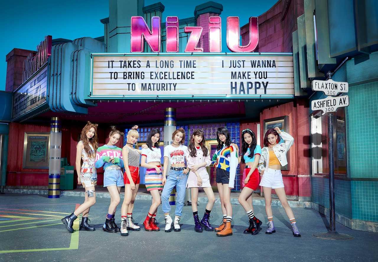 NiziU、全世界音楽配信サイトにて109冠達成!MVが驚愕の5,000万回再生突破!