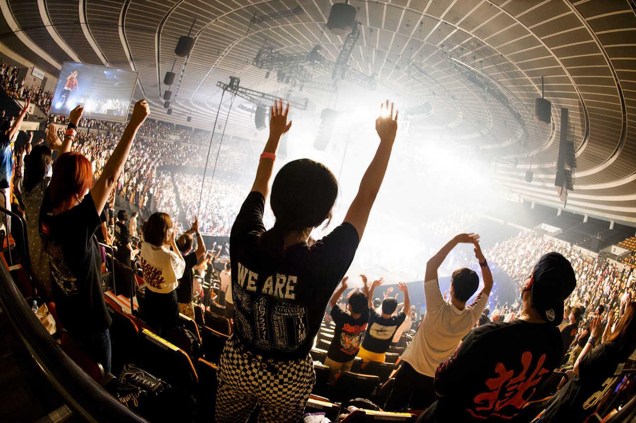 """8月8日(土)@『Osaka Music DAYS!!! THE LIVE in 大阪城ホール』 photo by  日吉""""JP""""純平、Yukihide""""JON..."""" Takimoto"""