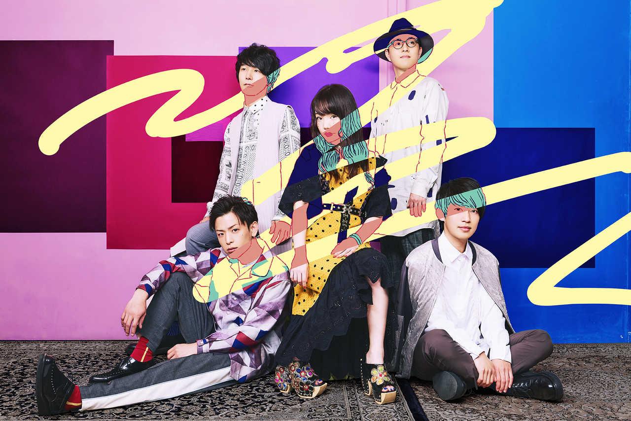 L→R syunn(Ba)、yu-ya(Gu)、kiila(Vo)、rio(key)、tomoki(Dr)