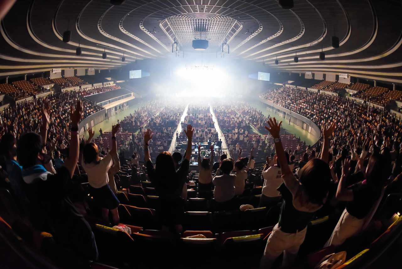 8月9日(日)@『Osaka Music DAYS!!! THE LIVE in 大阪城ホール』 photo by 渡邉一生、ハヤシマコ