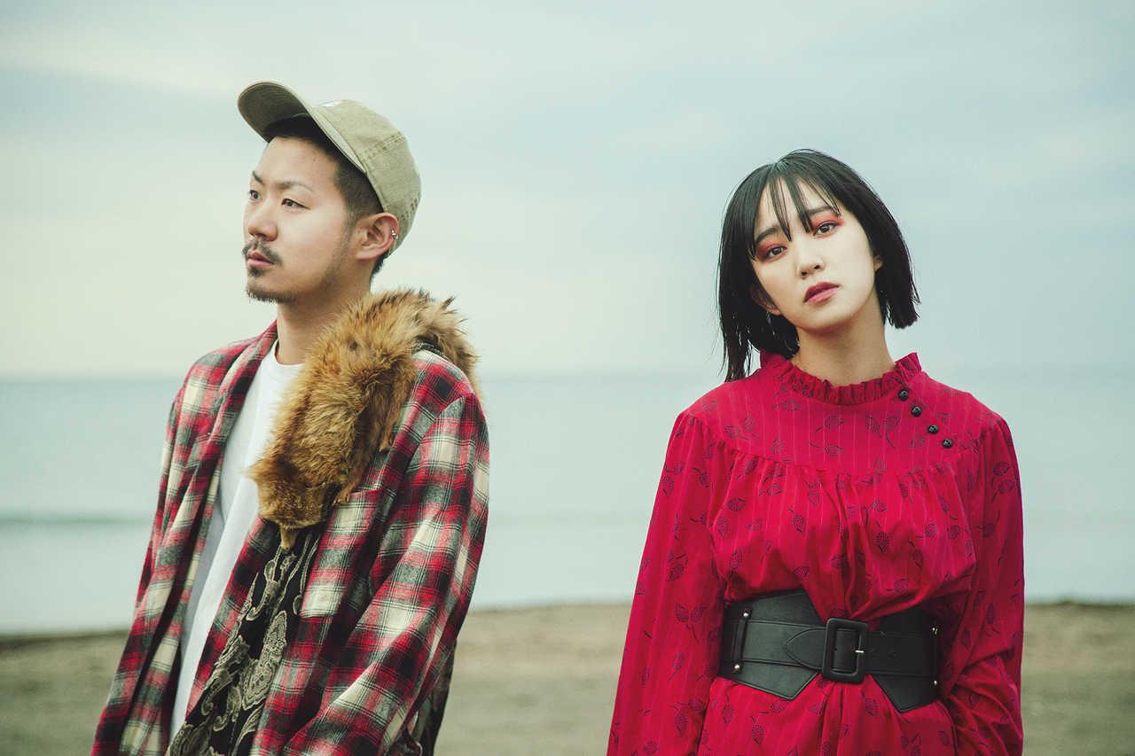 L→R タクマ(Gu&Cho)、モリユイ(Vo)