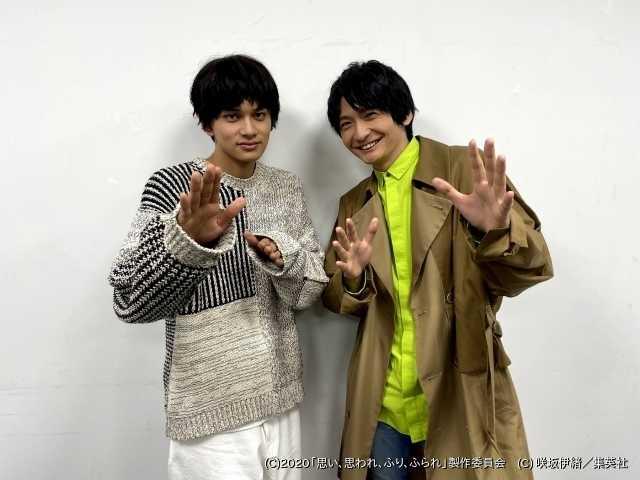 """北村匠海(左)と島崎信長が""""チーム理央""""としてゲームに挑戦!"""