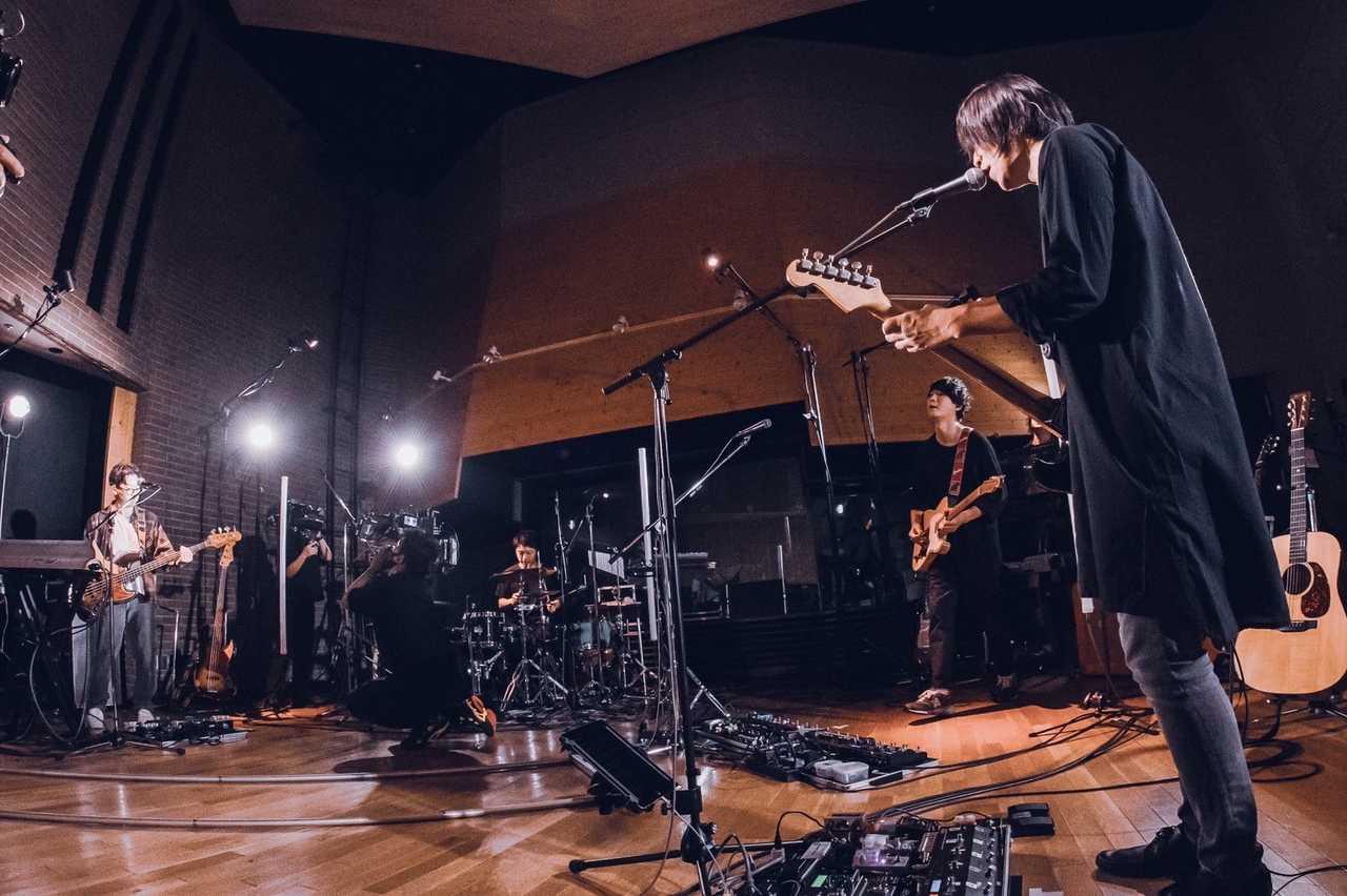 """9月26日@配信ワンマンライブ『androp online live 2020 """"RainMan""""』"""