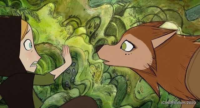 """ハンターを父に持つ少女と、人間とオオカミがひとつの体に共存する""""ウルフウォーカー""""の友情"""
