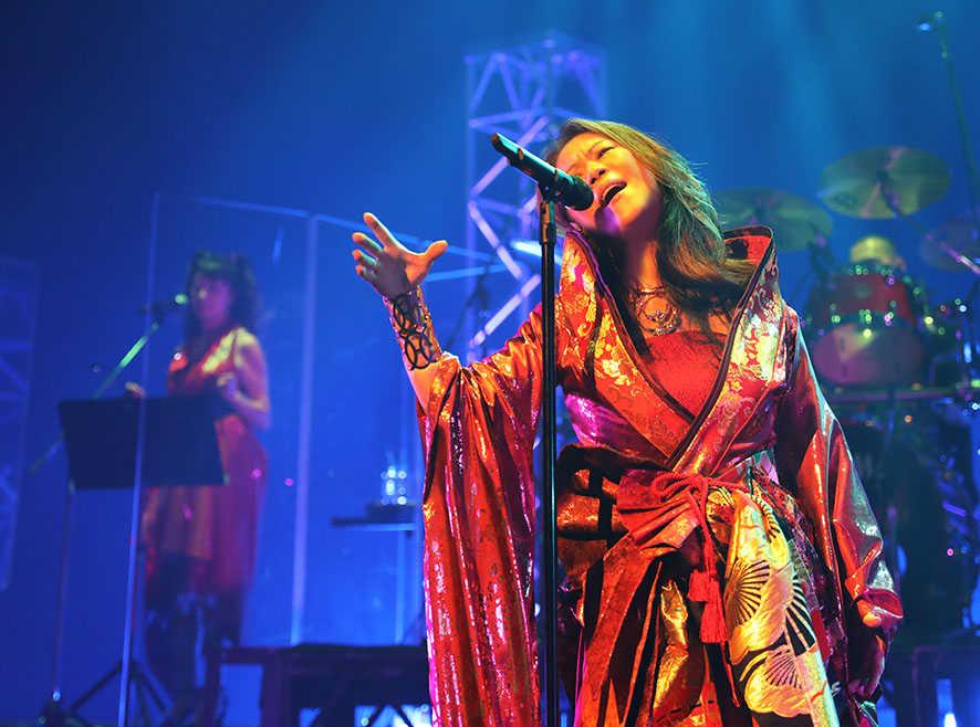 大黒摩季、有観客での全国14都市でのライブ・ツアーをスタート!!