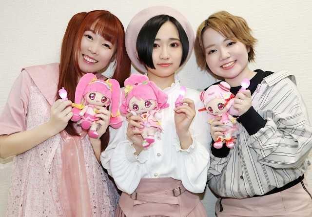 (左から)成瀬瑛美、悠木碧、引坂理絵