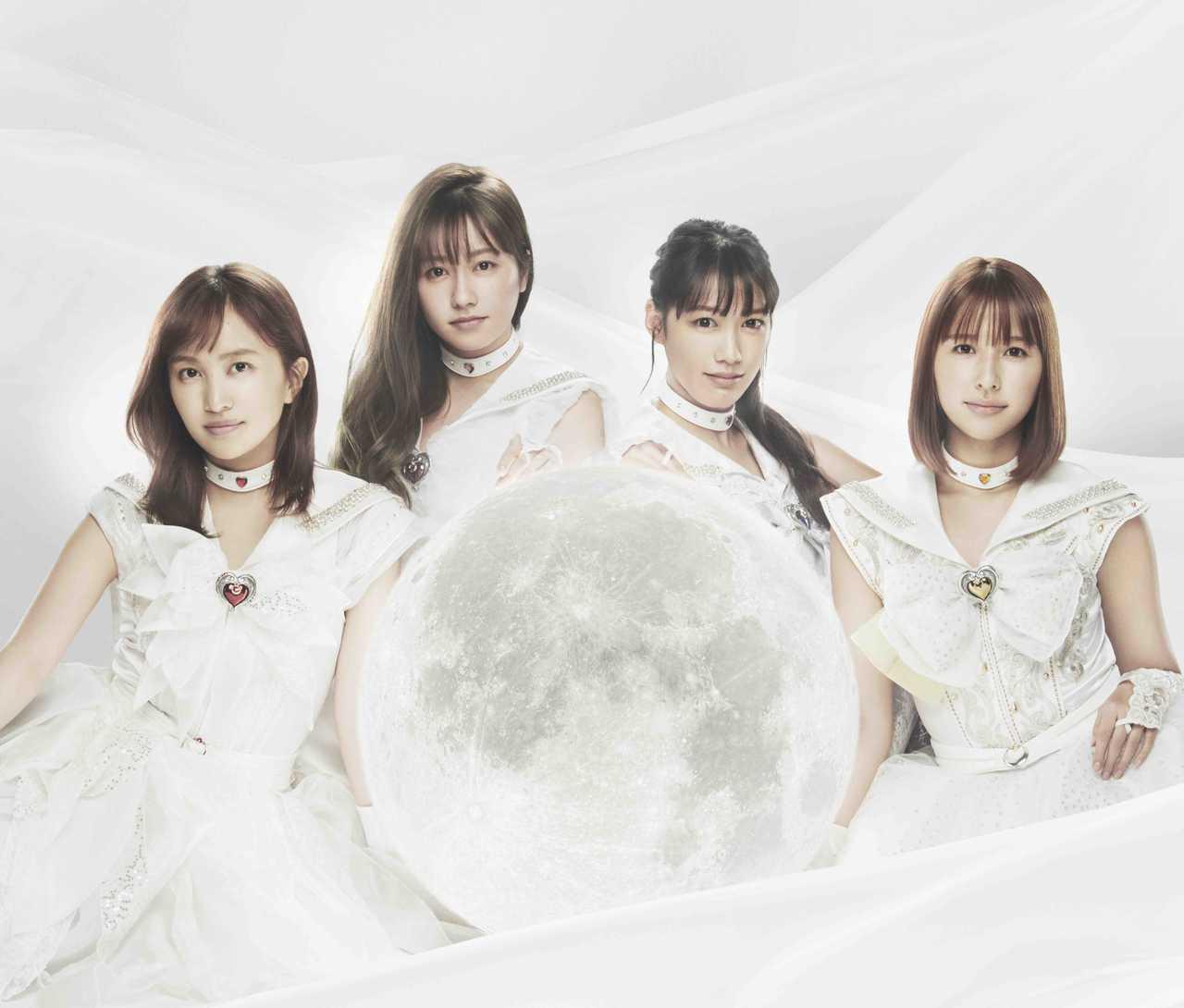 ももクロ 劇場版「美少女戦士セーラームーン Eternal」主題歌『月色Chainon』収録内容&新アー写公開!
