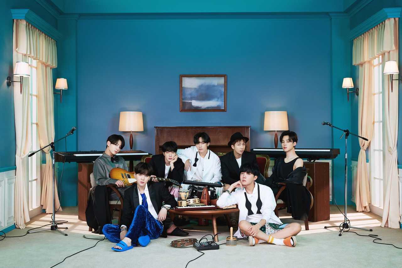 BTS、米 'People's Choice Awards' 4冠を達成!