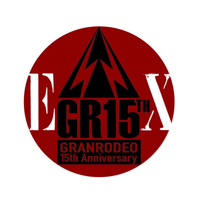 GRANRODEO GR15周年延長ロゴ
