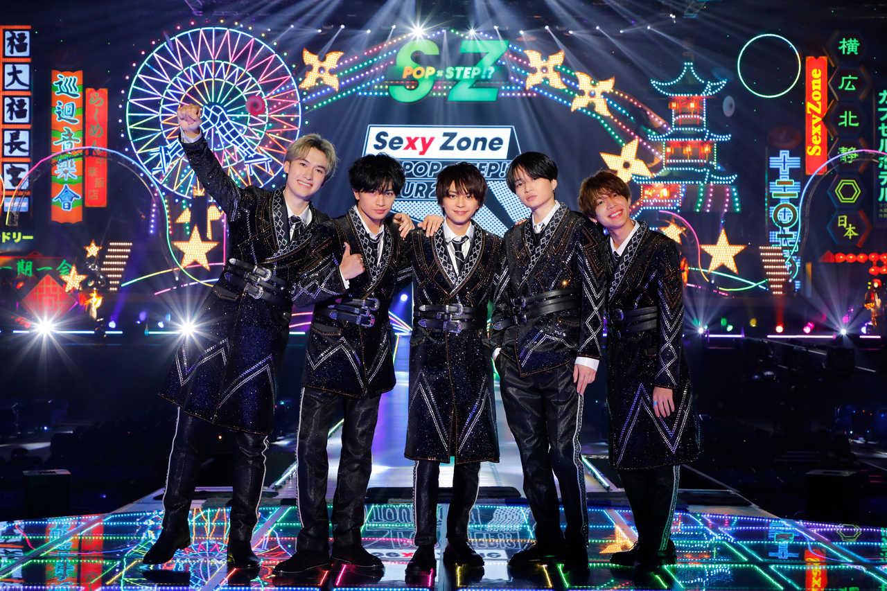 Sexy Zone 悲願の初配信ライブを映像化!LIVE Blu-ray & DVDリリース決定!
