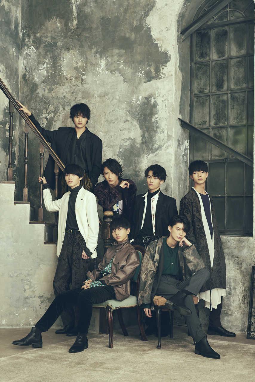 写真左上段より時計回りに、大倉空人、桜木雅哉、武藤 潤、吉澤要人、杢代和人、長野凌大、小泉光咲