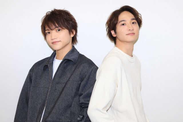 三浦宏規(左)と小関裕太