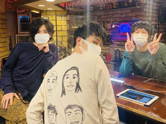 オンラインイベントを行った(左から)渡邊圭祐、杉野遥亮、前原滉 (C)「直ちゃんは小学三年生」製作委員会