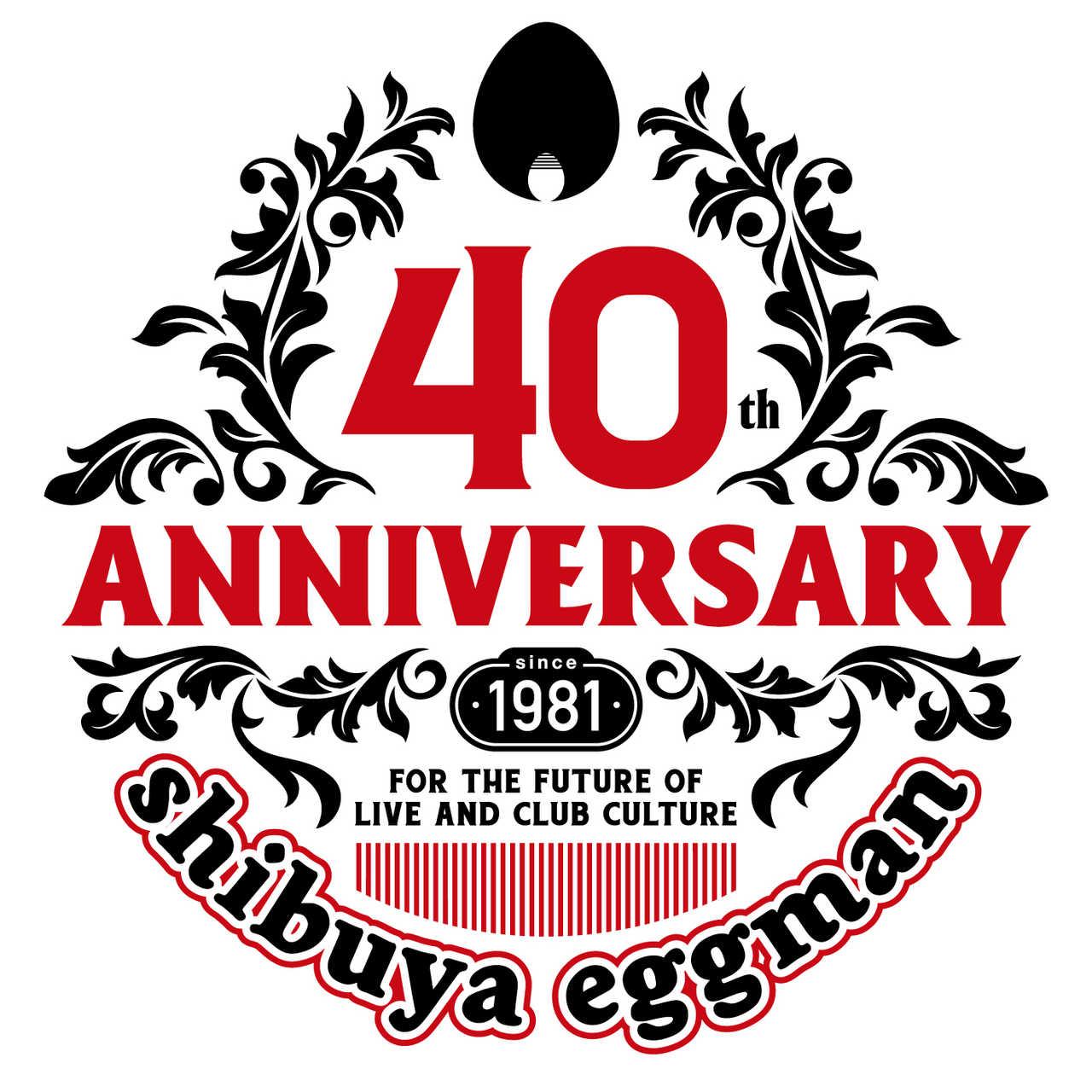 shibuya eggman 40周年