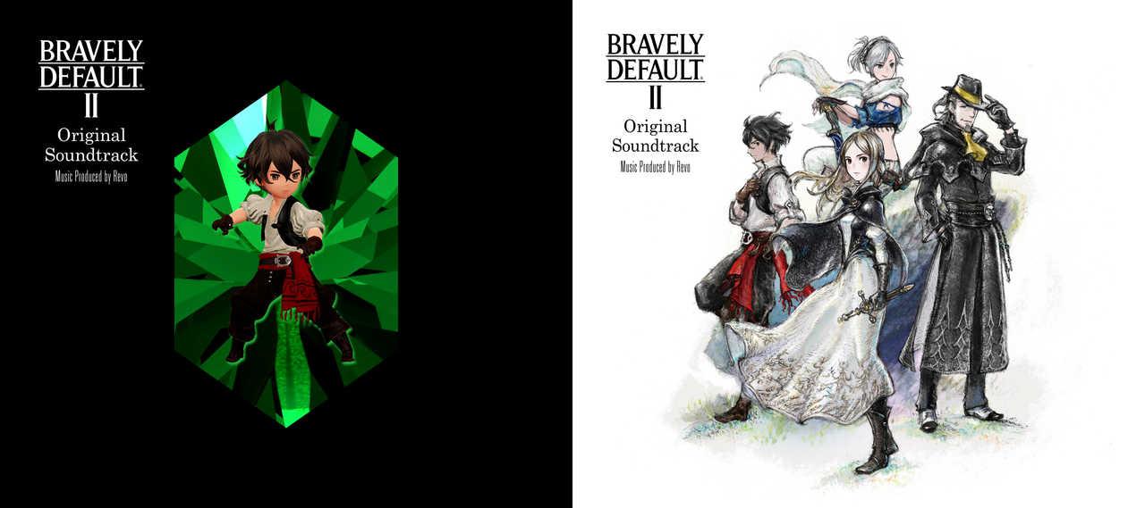 アルバム『BRAVELY DEFAULT II Original Soundtrack』【初回限定盤】&【通常盤】