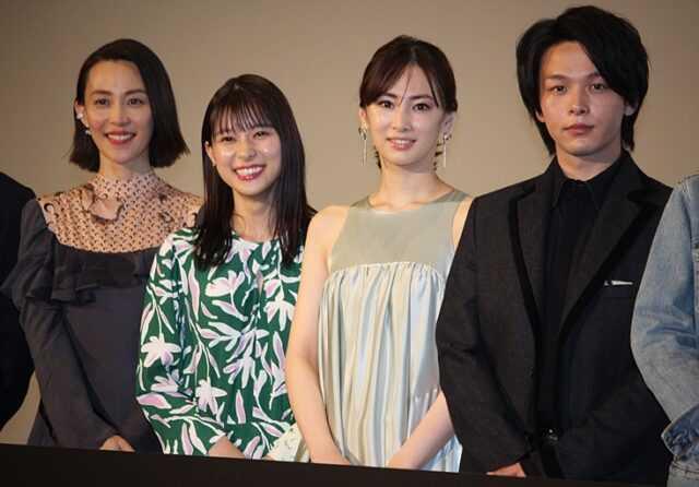 (左から)木村佳乃、芳根京子、北川景子、中村倫也