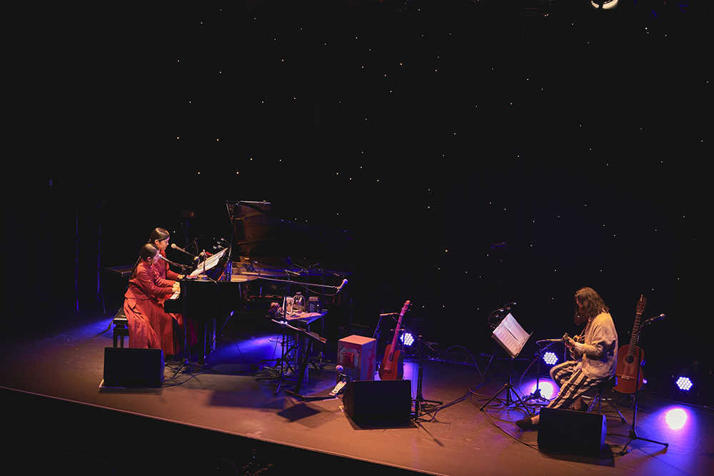"""ワンマンライブ『キトリの音楽会 #3 """"木鳥と羊毛""""』(Photo by Masatsugu  ide )"""