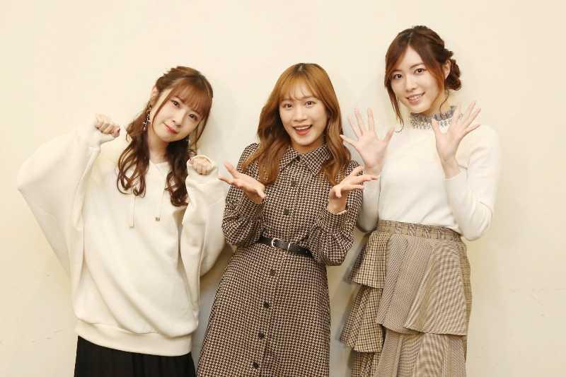 (左から)高柳明音 斉藤真木子 松井珠理奈