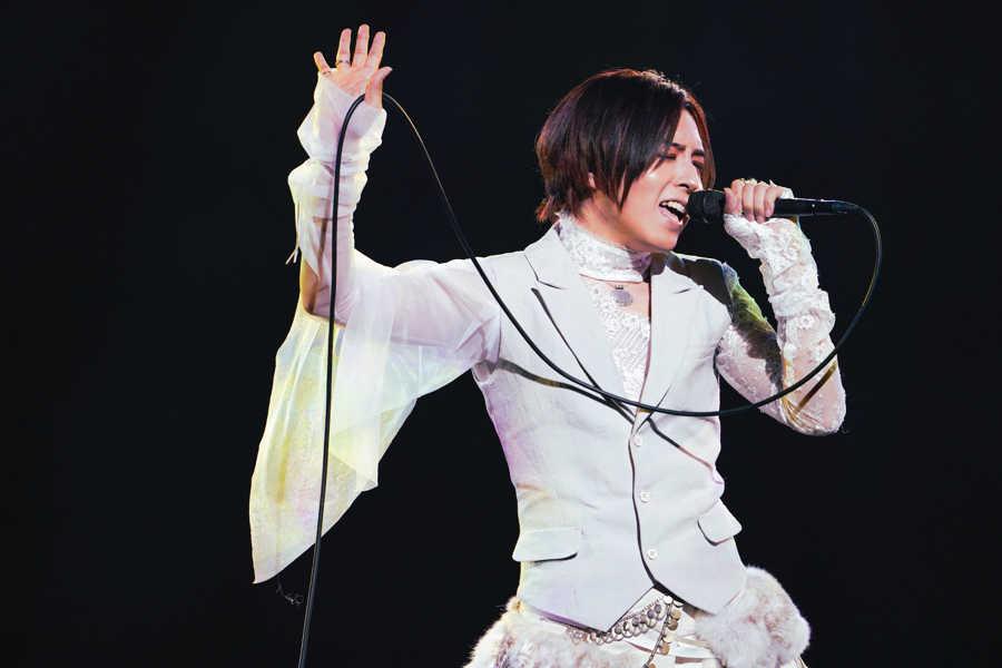 『蒼井翔太 ONLINE LIVE at 日本武道館 うたいびと』(Photo by 上飯坂一)