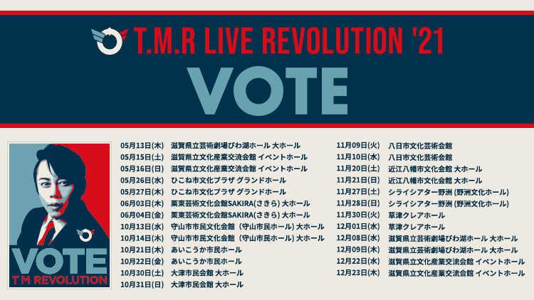 『T.M.R. LIVE REVOLUTION'21 -VOTE-』