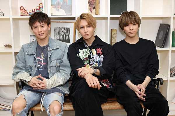 (左から)橋本汰斗、山田ジェームス武、新正俊