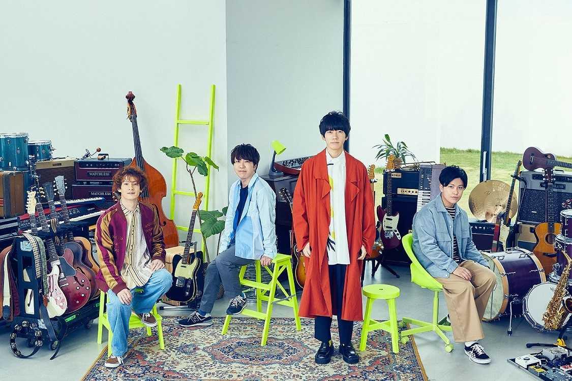 sumika、6月2日リリース両A面シングルより「ナイトウォーカー」の初オンエアが決定