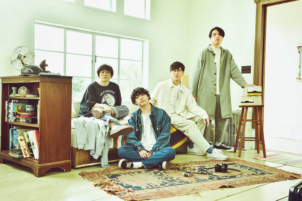 L→R 安藤太一(Gu&Cho)、佐藤 赳(Gu&Vo)、田中そら(Ba)、伊藤克起(Dr)