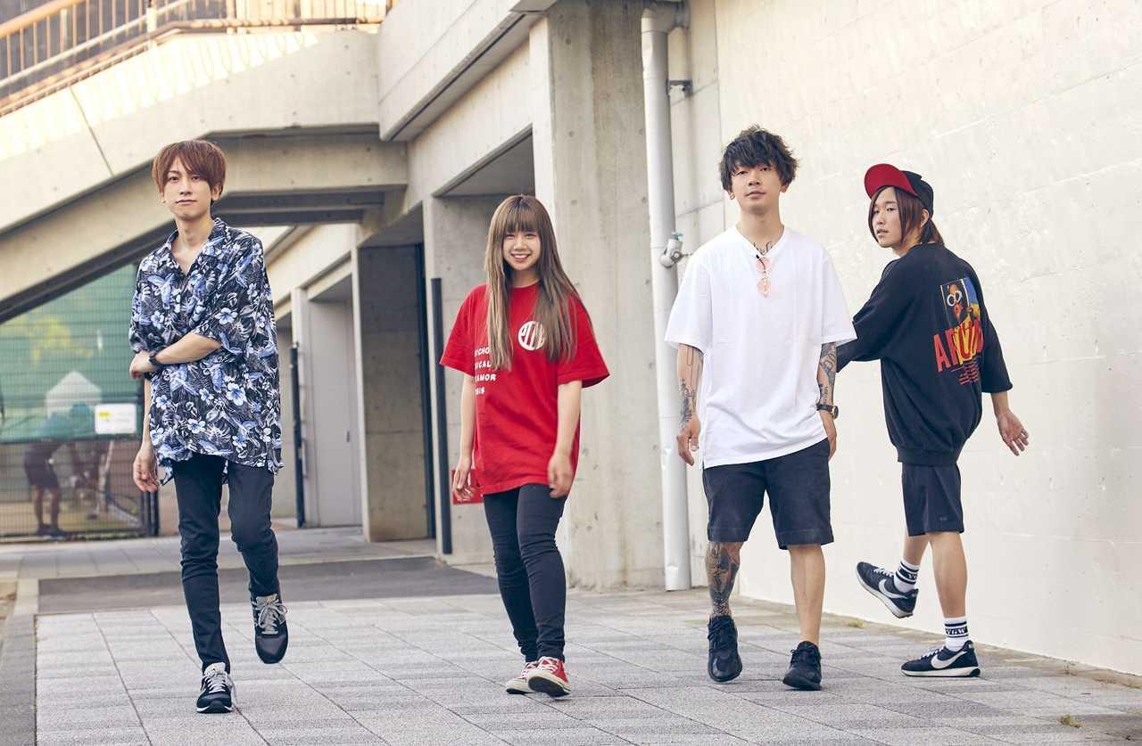 MOSHIMO、1st ALBUM「化かし愛」リリースツアー開催決定&ライブ映像公開!