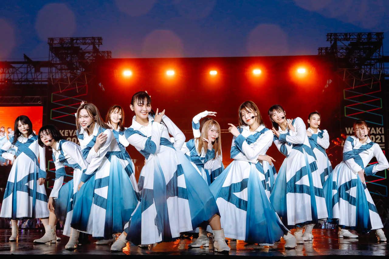 【ライブレポート】櫻坂46・日向坂46による合同野外ライブ『W-KEYAKI FES.2021』終幕!