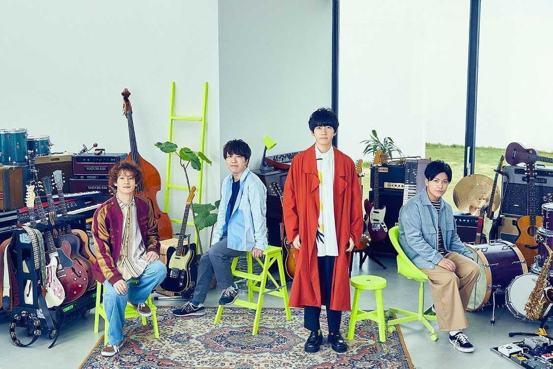 sumika、『バイキング MORE』テーマソングとして話題の新曲「Jasmine」を7月30日配信限定リリース決定!