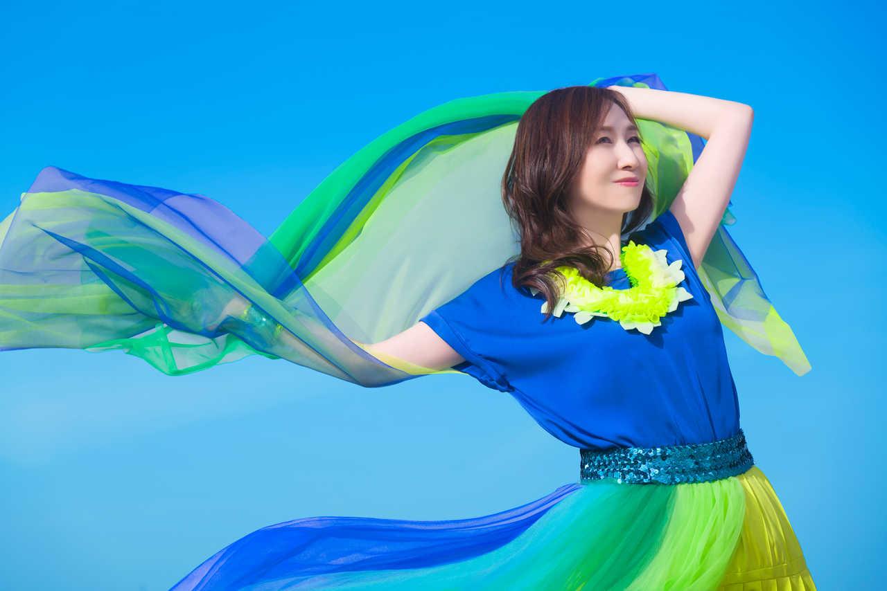 森口博子、「蒼い生命」ミュージックビデオを公開!衣装テーマは「水の星」。デジタル先行配信もスタート!