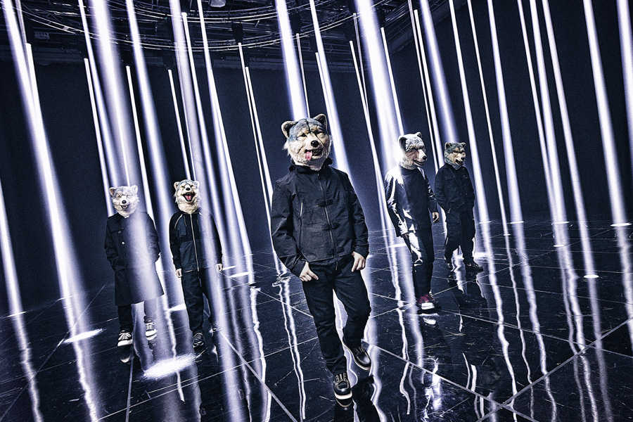 MAN WITH A MISSION、シングル「Merry-Go-Round」ストリーミングライブの映像作品2作の同時発売が決定!!