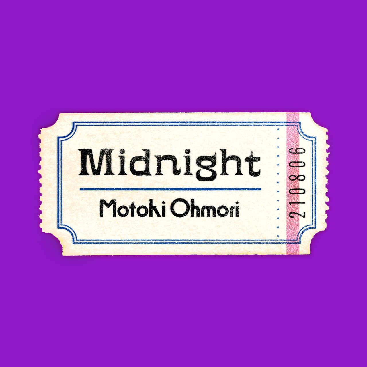 Mrs. GREEN APPLEのフロントマン・大森元貴、2nd Digital EP『Midnight』 8月6日(金)配信決定!