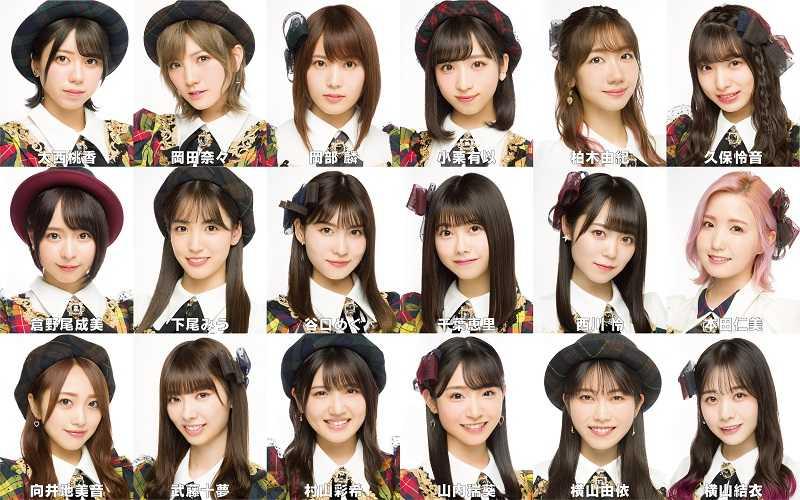 AKB48 58thシングル選抜メンバー