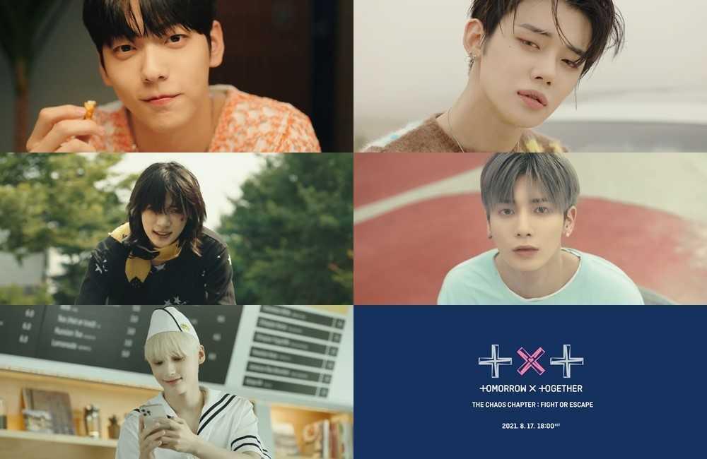 TOMORROW X TOGETHER「LO$ER=LO♡ER」MVのメンバーソロティーザー公開!