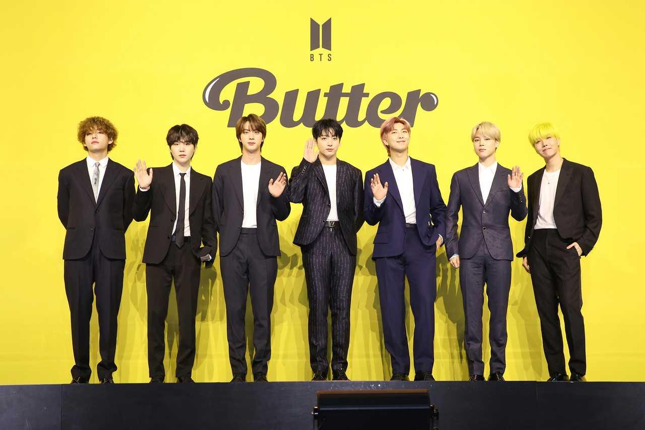 BTS、27日に「Butter」リミックス発表!  メーガン・ザ・スタリオンがフィーチャリング参加!