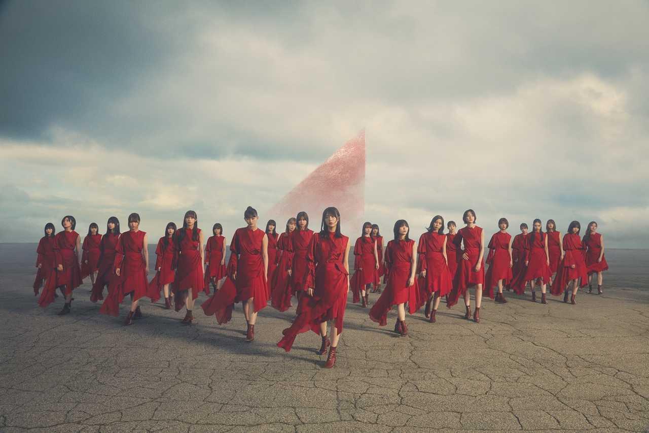 櫻坂46、3rdシングル・アートワーク公開!今作もPERIMETRON!