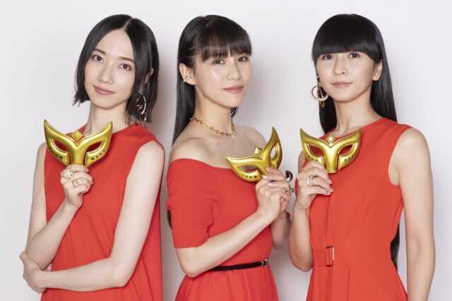 perfume(スタイリスト:Shinichi Miter (KiKi Inc.)/へアメーク:福間友香(ヴァニテ)/メイクアップ:大須賀昌子)
