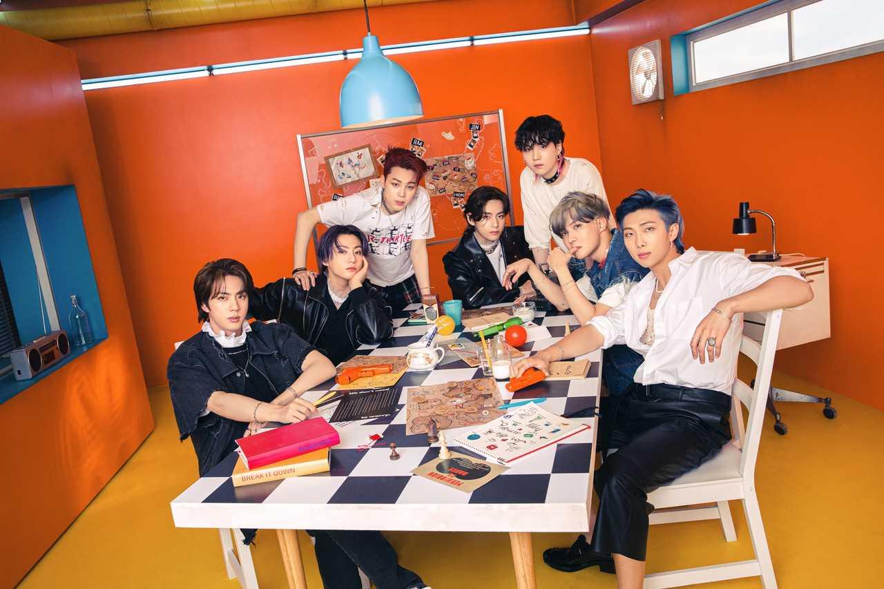 BTS「Butter」ビルボードHOT100で逆走行14位 17週連続ランクイン!