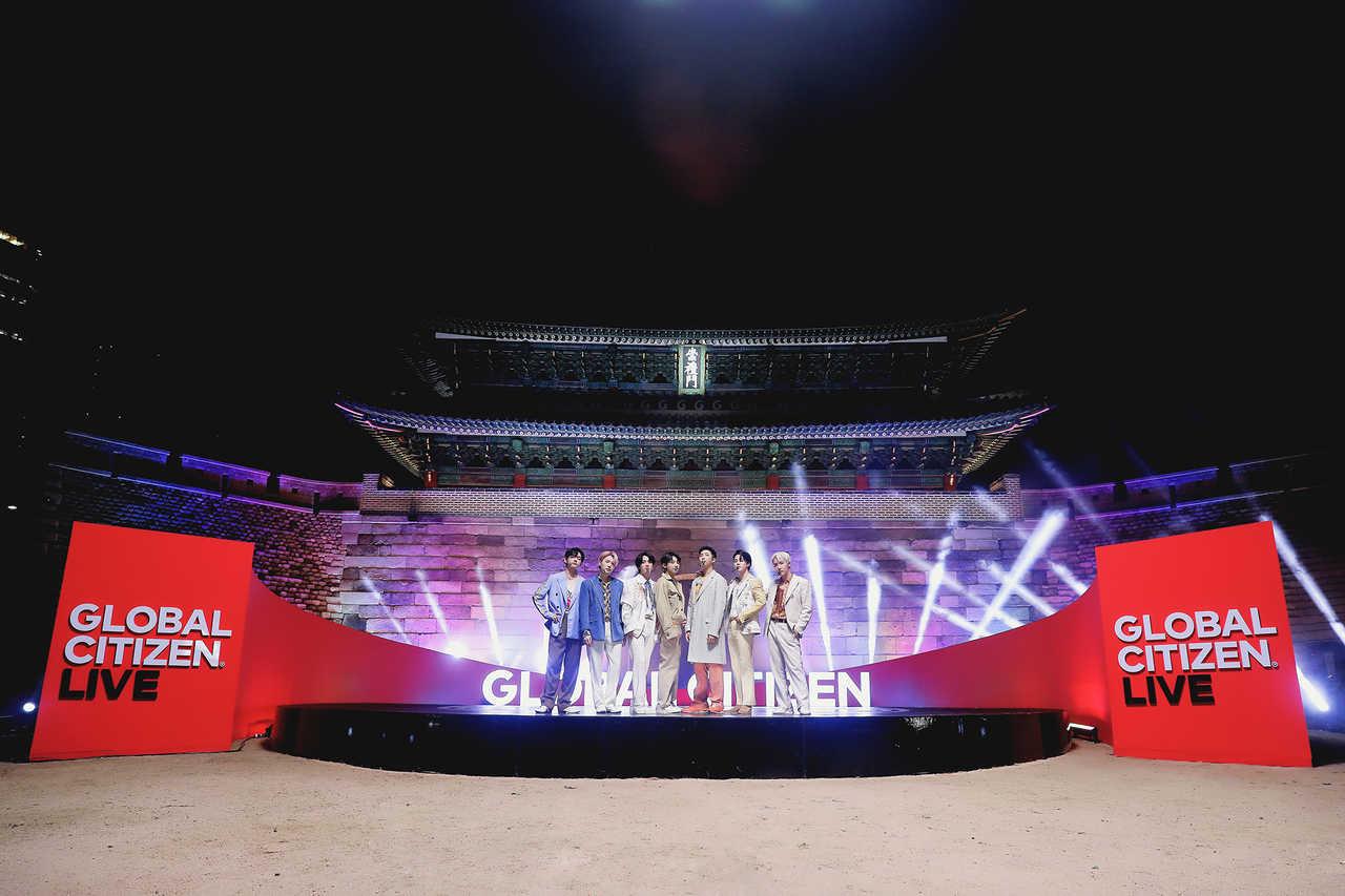 BTS「2021 Global Citizen LIVE」オープニングを飾る!