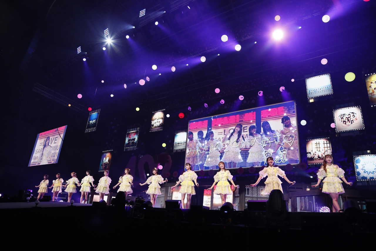【ライブレポート】=LOVEの世界へ誘い、魅了した4周年記念ライブをレポート!