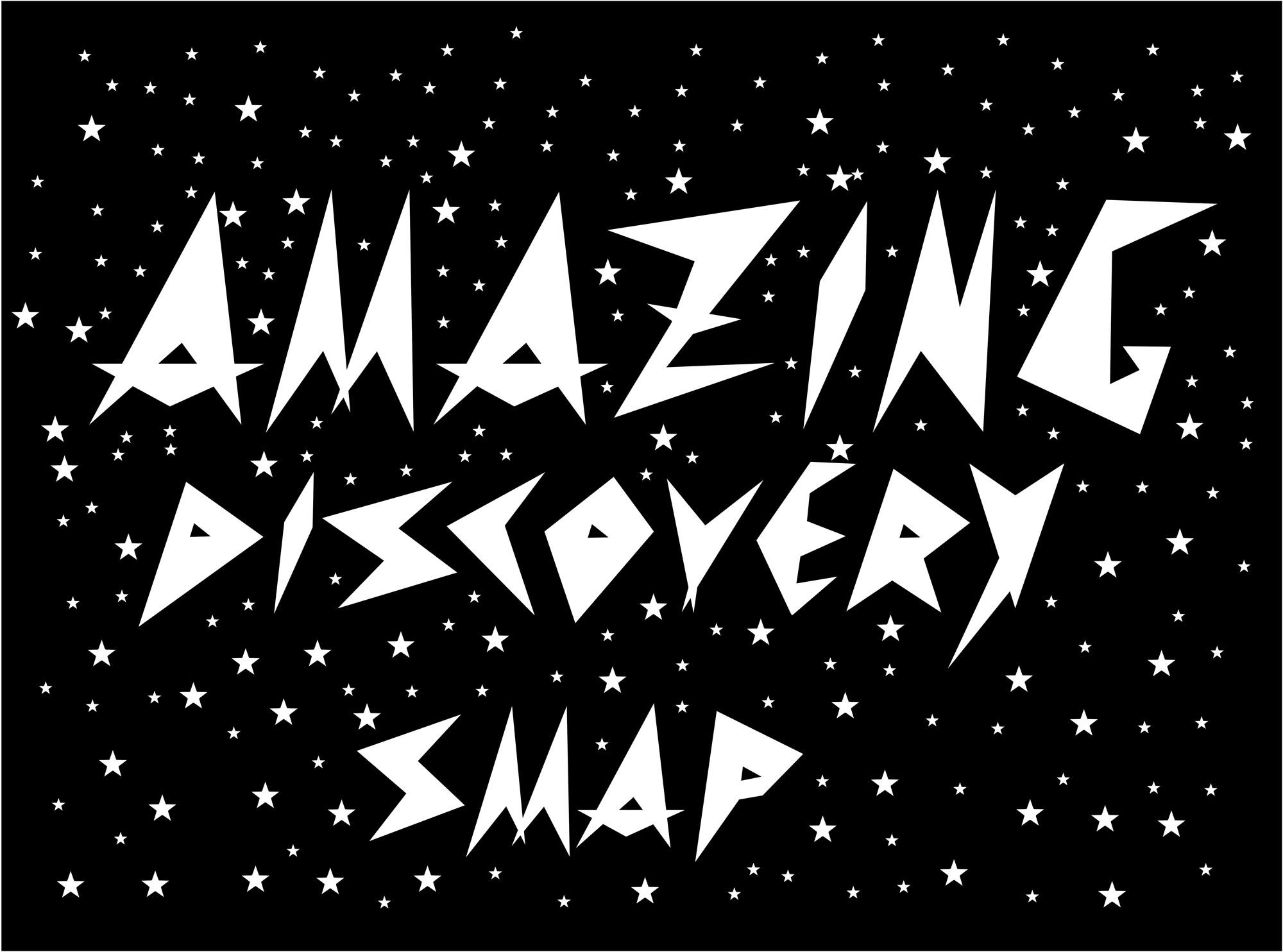 「Amazing Discovery」ロゴ