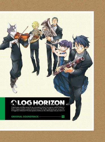 『「ログ・ホライズン」オリジナル・サウンドトラック』ジャケット画像 (C)2014 NHK