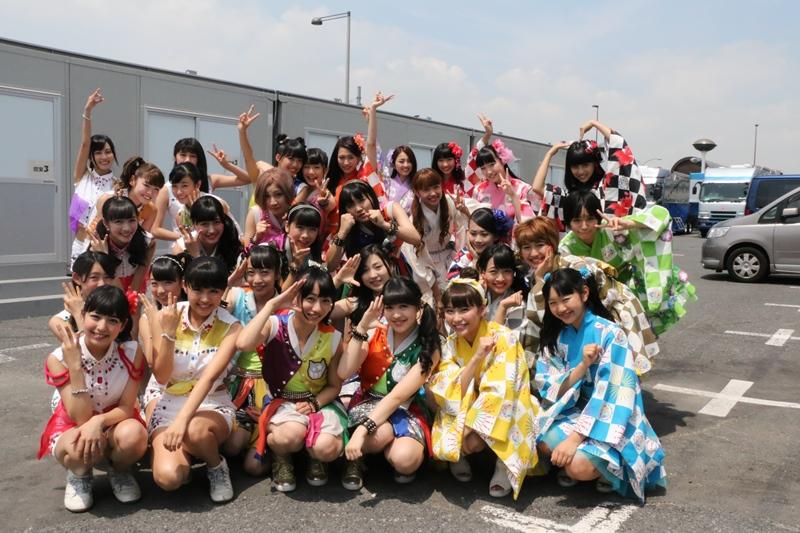 8月1日@お台場新大陸・新大陸ステージ