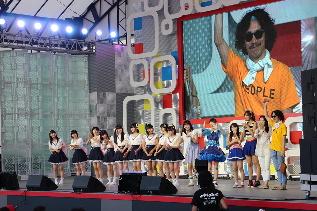 8月3日(日)@『TOKYO IDOL FESTIVAL2014』