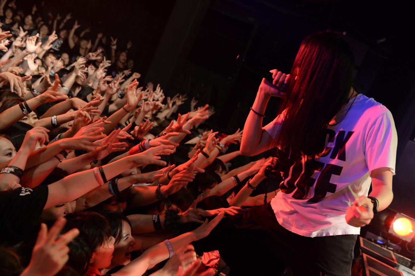 8月28日@東京・LIQUIDROOM ebisu(MUCC)