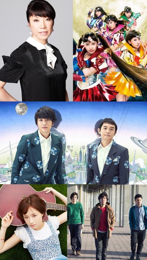 ニッポン放送開局60周年記念ソング『忘れられぬミュージック』アーティスト写真