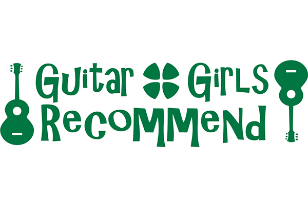 「guitar girls recommend powered by M-ON!」