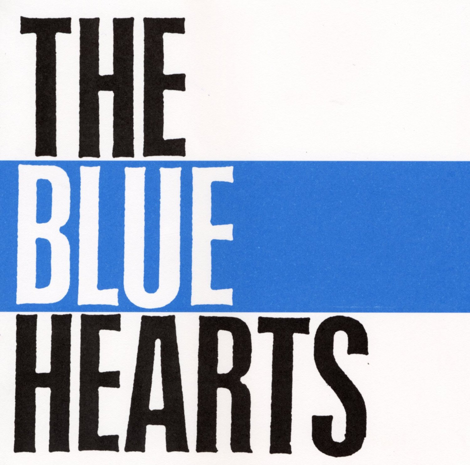 『THE BLUE HEARTS』/THE BLUE HEARTS