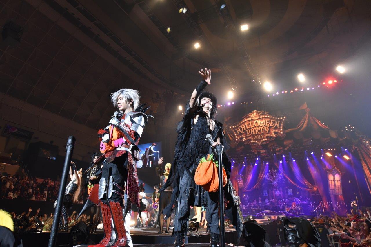 11月26日(日)@神戸ワールド記念ホール(HALLOWEEN JUNKY ORCHESTRA)